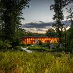 Nature Center on a summer's night