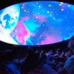 Naturesphere planetarium at Robinson Nature Center
