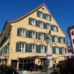 Hotel Schwan am gleichnamigen Dorfbrunnen