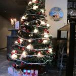 RECEPTION旁邊的聖誕樹