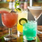 Cold Drinks From 3 Margaritas