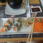 Photo of sushi in