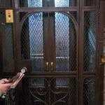 El ascensor del siglo pasado.