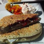 Chicken, Brie and Cranberry Panini