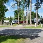 Some of the spaces for RV's at KOA
