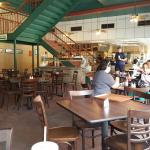 Inside Bill Miller Restaurant
