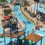 Great place to take the family. We had a blast on the slides and lazy river. Tiki bar and food a