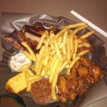 The platter.