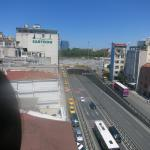the view out to Taksim Square, Taximtown Hotel