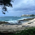 浜辺は、心地よい風と絶景で、感動します。