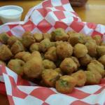 Tremendous fried okra