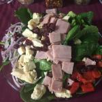 Beautiful salads!!! Mckees now has an entire menu of dinner salads!! So fresh so delicious!!