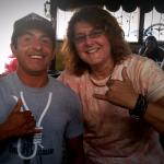 Feeling good with Ivan in Los Cabos at the Hangman!