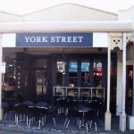 Front of the York Street cafe
