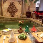 Breakfast at Riad Chacha Lalla