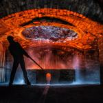 this was taken on the heritage day, inside the iron works