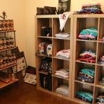 Our gift shop is stocked with T-shirts and wine related gifts!
