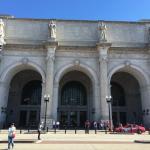 Vista de Union Station desde el monumento