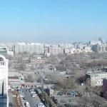View from my suite overlooking Beijing