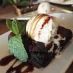 lovely columbian chocolate brownie
