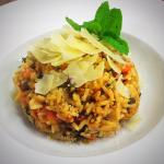 Vegetarian and Gluten Risotto
