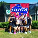 State Runner Up in Region AAA High School tennis 2016