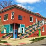 We are nestled in a neighborhood, walking distance to downtown Detroit and major attractions.