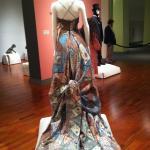 part of the fashion exhibit