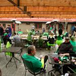 Post race party for our inaugural O'Grady's St. Paddy's 5k