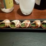 Escargots très bons, pas de tout caoutchouteux comme on en voit trop souvent.