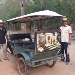 Travelling by either tuk-tuk or air-conditioned car for further temples is fun either way!