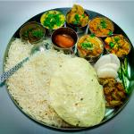 DHAM ;TRADITIONAL THALI OF KULLU