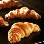 Hot, fresh, authentic croissants each morning, only at La bouchee d'or