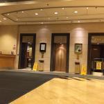 Hotel Lobby Elevator