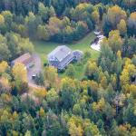 Arial view of property