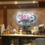 Opals - sign over store