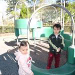 Un Parquecito donde los niños pueden Jugar