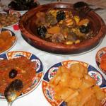 Riad Kniza Restaurant Foto