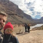Fundo do Canyon a beira do rio Colorado