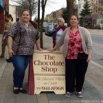 Last stop on the tour: The Chocolate Shop mhmm