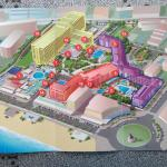 Map of Sol Don complex all three hotels