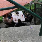 Lauschiger Terassenplatz