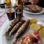 grilled sardines in Portimao--very tasty!