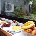 Desayuno rico, abundante y variado.