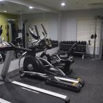 New fitness area