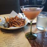 Duck Fat Fries & THE BEST specialty Cosmo!!