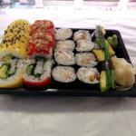 Bandeja Sushi Vegetariana (18 Piezas) - 10€