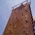 Challenge course - rock wall