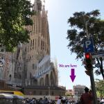 Ole Barcelona - beside Sagrada Familia