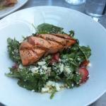 Wild Salmon and Strawberry Salad